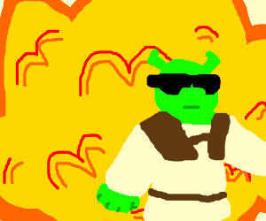 Cool Shreks don't look at explosions