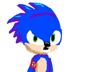 SONIC WAS HITLER ALL ALONG!!!!