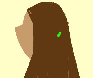 algae in my hair