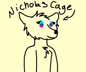 Nicholas Cage is a female furry