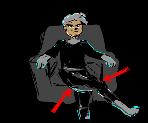 Danny Phantom has legs for days.