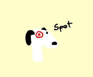 Target Dog Drawing By Koopmajoramander