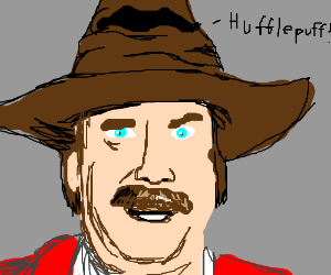 Ron Burgundy, you are Hufflepuff!