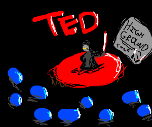Sith lord gives a TED talk