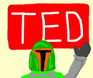 Boba Fett gives a TED talk