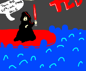Palpating gives a ted talk on joining the sith