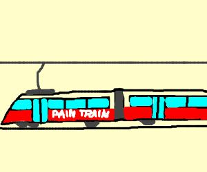 The pain train