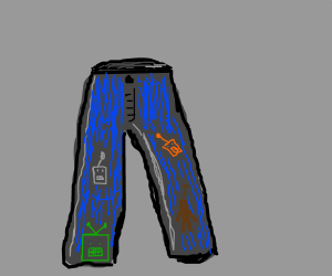 A pair of Robo-Jeans