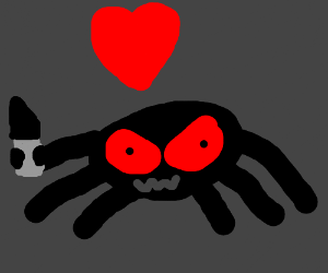 spider is possessed by chara