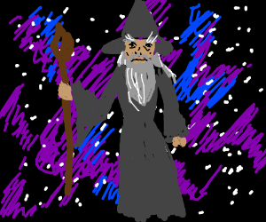 Gandalf the Master of Space