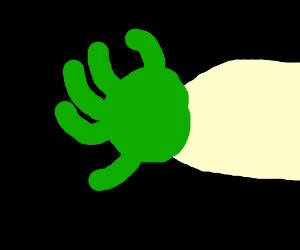 Shrek's arm