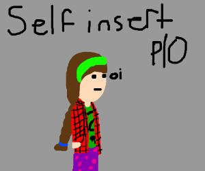 self insert. pass it on