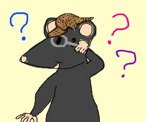 Detective mouse