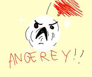 Angry disco ball
