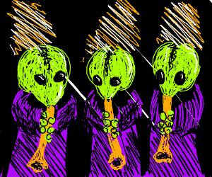 Mos Eisley Cantina band.