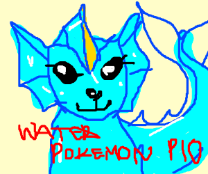 how to draw water type pokemon