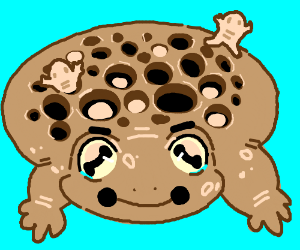 Trypophobia Frog Drawception