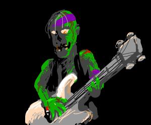 Zombie bassist