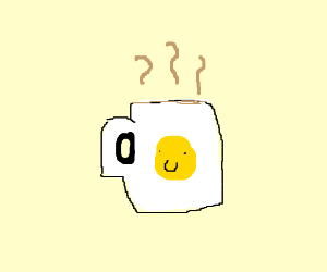 some coffee