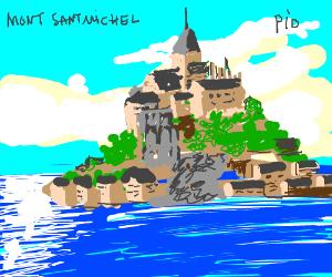 the Mont Saint Michel Pio