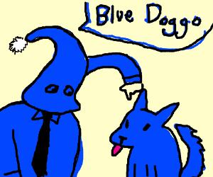 Blue da ba dee ba dog