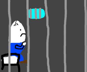 Humpty Dumpty in jail