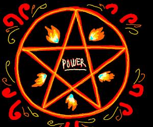 Pentagram of power