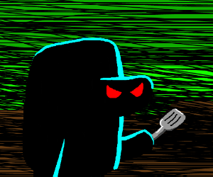 The brass singing- THE HASH SLINGING SLASHER!