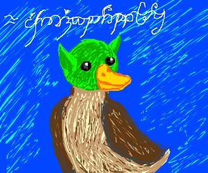 An elfin duckin masterpiece