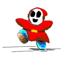 Happy Shy Guy