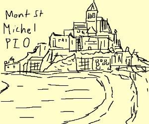 Mont St. Michel P.I.O.