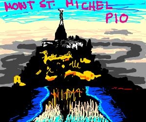 Mont St. Michel  P.I.O