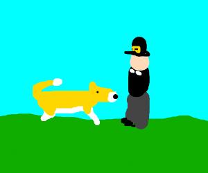 Pilgrim investigates doge