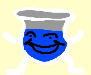 blue kool aid man