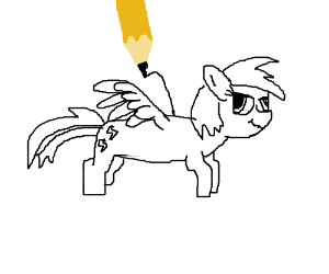 Draw Firefly From My Little Pony