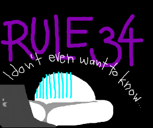 All faith in humanity is lost thanks to rule34