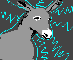 Electric donkey !