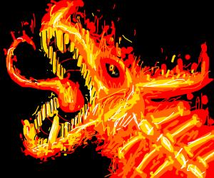 Crazy Fire Dragon