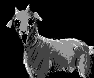 Goat Ghost. Ghoast.