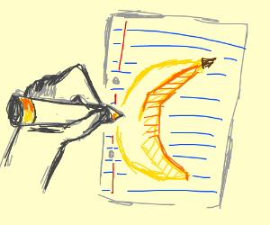 Drawing A Banana