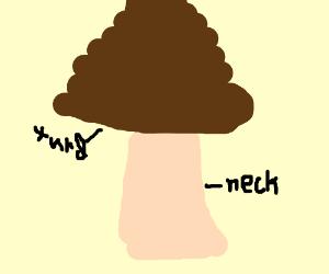 Turd on a neck