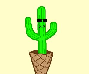 Cactus icecream