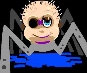 Spider Baby From Toy Story Drawing By Sick