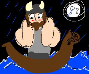 Viking blushes