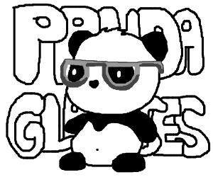give panda glasses!!!