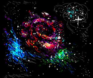 Rose-shaped Galaxy