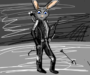 Catching fire & zootopia crossover