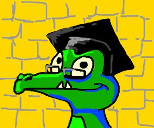 'Where's my Water?' Crocodile graduates