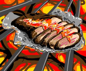 Barbequed beef briskets?!