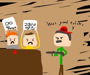 Ya' boy Stalin being radical as heck